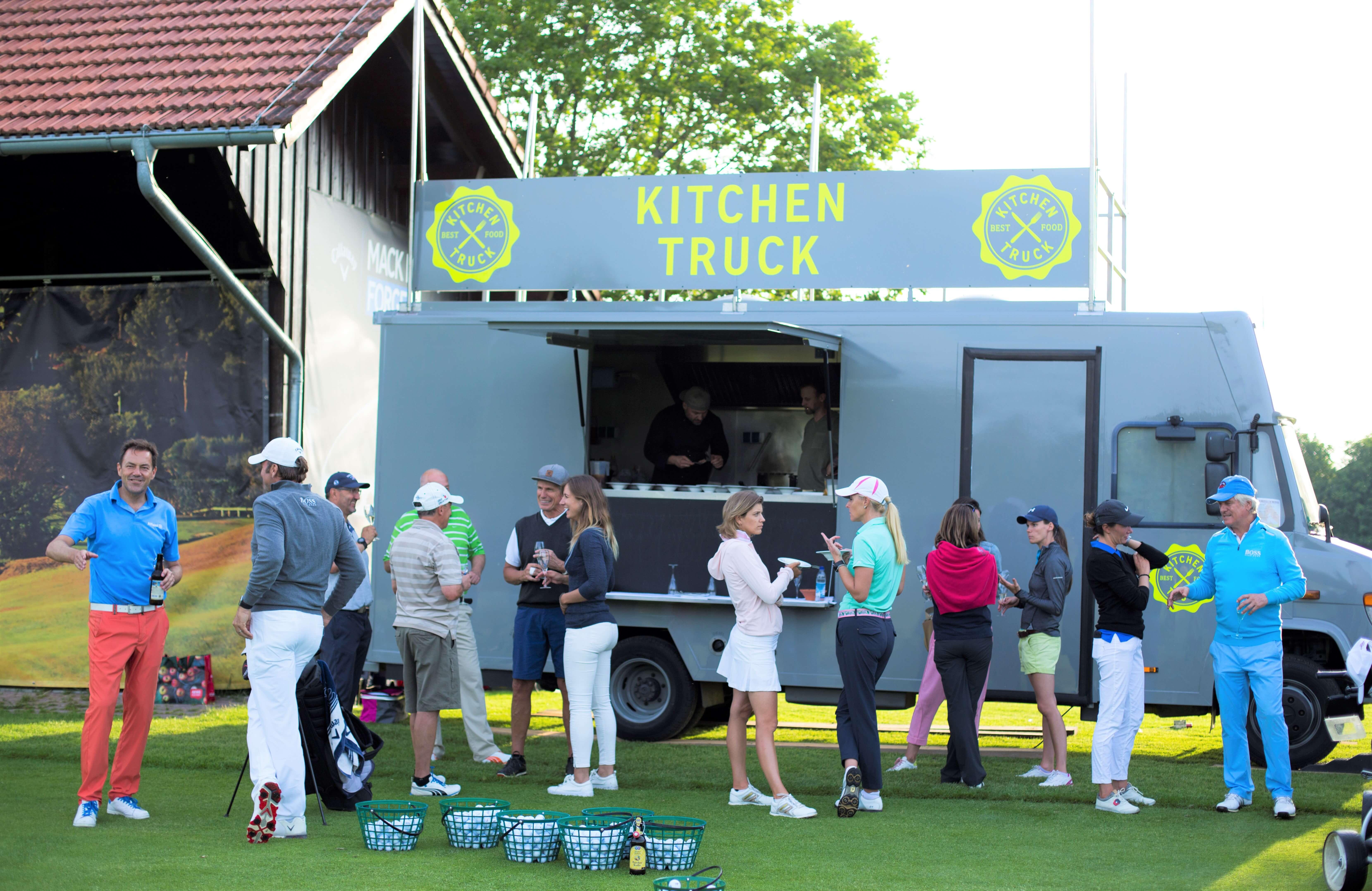 Einer unserer erfolgreichen Food Trucks: Der Kitchen Truck in München!