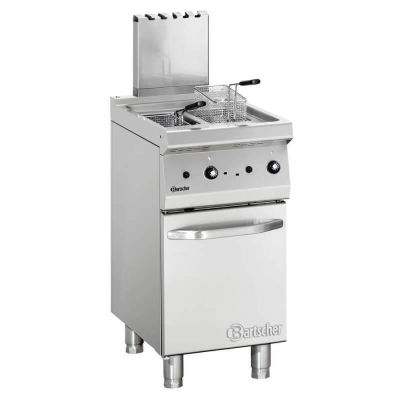 Fritteuse Gas, 700, B400, 2x7L